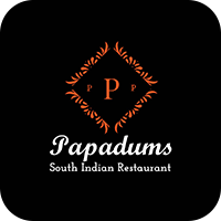 Papadums South Indian Rest